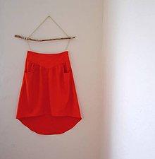 Sukne - ľanová sukňa hory.doly - 8544145_
