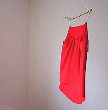 Sukne - ľanová sukňa hory.doly - 8544161_