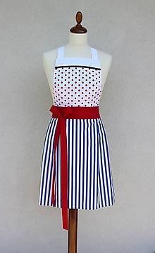Iné oblečenie - zástera Naty - 8543501_
