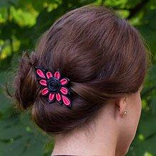 Ozdoby do vlasov - Sponka do vlasov Magenta - 8544766_