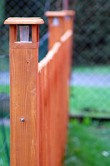 Nábytok - Stĺpik drevený terasový - 8545706_