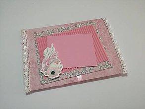 Papiernictvo - obálka na peniažky_ ružová - 8544018_