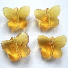 Korálky - Skl.motýľ 15x12x8mm-1ks - 8543186_