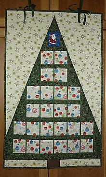 Dekorácie - Adventný kalendár STROMČEK (stromček 5) - 8545022_