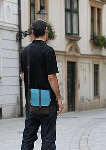 Tašky - Malá taška TYRKYS - 8545454_