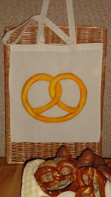 Nákupné tašky - maľovaná taška - chrumkavá - 8543538_