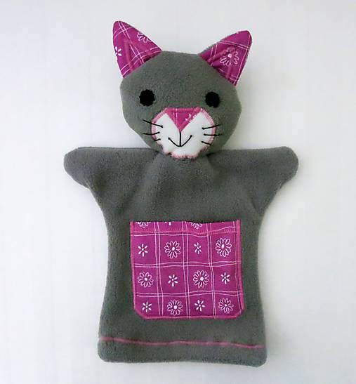 Pekná ružová mačička pics