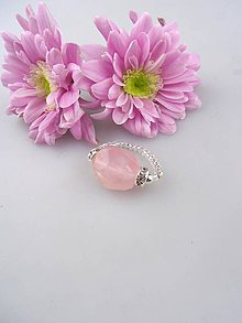 Prstene - morganit prsteň nuget - 8545692_