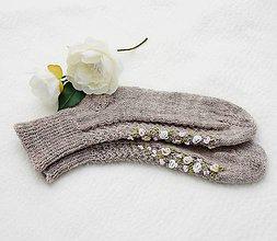 Iné doplnky - Ponožky s výšivkou - 8543637_