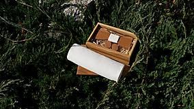 Doplnky - Pánsky set- drevený motýlik, manžetové gombíky a vreckovka - 8543768_