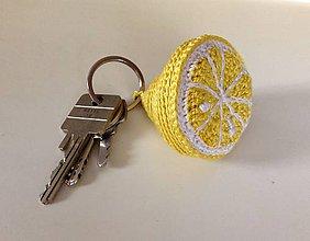 Kľúčenky - citrón - 8544402_