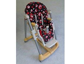 Detské doplnky - Umývateľný poťah na stoličku Peg Perego Prima pappa akýkoľvek model, pozri v popise - 8546586_