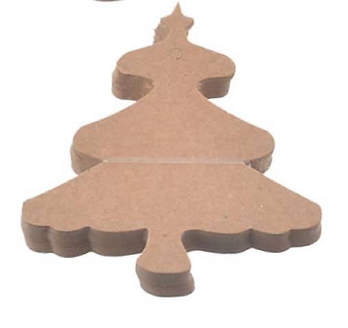 Visačka vianočný stromček 8 cm