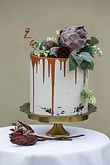 dekoračný box / svadobná torta Figová