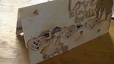 Papiernictvo - Pohľadnica Love - 8544700_