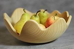 Nádoby - miska z lipového dreva - 8546158_