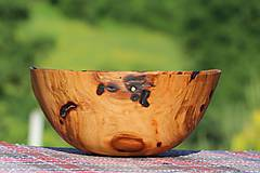 Nádoby - miska zo starej čerešňe - 8546221_