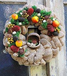 Dekorácie - Podzimný, veselý.. - 8547879_