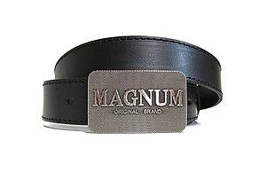 Doplnky - Pánsky kožený opasok Magnum - 8547183_