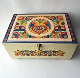 Krabičky - Šperkovnica ornamentová II. s venovaním - 8549214_