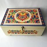 Krabičky - Šperkovnica ornamentová II. s venovaním - 8549238_