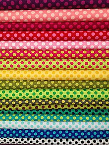 Textil - Bavlnené látky TA DOT - 8547044_