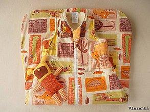 Textil - Spací pytel pro deti a miminka na zimní 100% ovčie rúno MERINO TOP super wash S/M/L/XL/XXL - 8550450_