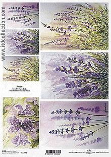 Papier - Ryžový papier Levanduľa - 8548022_