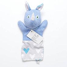 Hračky - Maňuška nosorožec - 8547287_