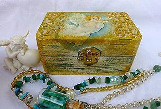 Krabičky - Anjelská krabička 1 - 8548472_