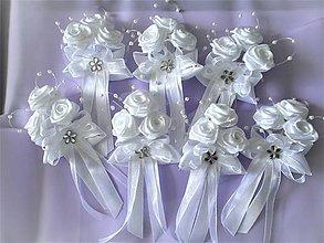 Pierka - Svadobné pierka pre rodičov a svedkov - 8549494_