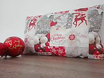 Vankúšik vianočný patchwork