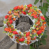 Dekorácie - Jesenný veniec - 8547486_