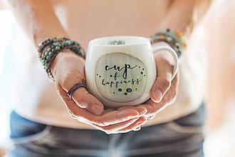 Nádoby - Hrnček Cup of happiness - 8546668_