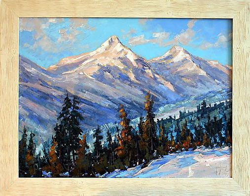Obrazy - Belianské tatry pod snehovou prikrývkou - 8548182_