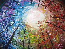 Obrazy - Obraz Farebné nebo  Akryl 40 x 40 cm - 8548780_