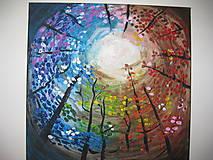 Obrazy - Obraz Farebné nebo  Akryl 40 x 40 cm - 8548783_