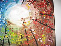 Obrazy - Obraz Farebné nebo  Akryl 40 x 40 cm - 8548786_