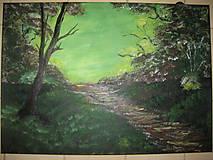 Obrazy - Obraz Východ slnka -akryl na plátne 70 X50 cm - 8549802_