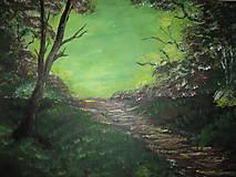 Obrazy - Obraz Východ slnka -akryl na plátne 70 X50 cm - 8549803_
