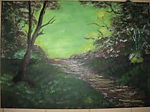 Obrazy - Obraz Východ slnka -akryl na plátne 70 X50 cm - 8549804_
