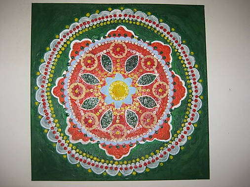 Obraz Bohemian mandala 40 x 40 cm