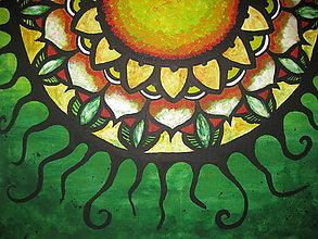 Obrazy - Mandala SLNKO - 8548523_