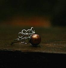 Prstene - Morská pena - perlový prsteň - 8547897_