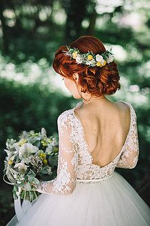 Ozdoby do vlasov - Svadobný polvenček