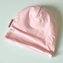Detské čiapky - detská čiapka oteplená - 8549816_