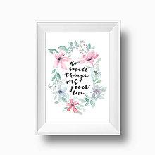 Obrázky - Artprint // do small things - 8547177_