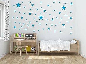 Dekorácie - Nálepky na stenu - Hviezdy - 8548120_