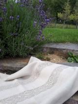 Úžitkový textil - Ľanová utierka Natur Romance - 8549673_