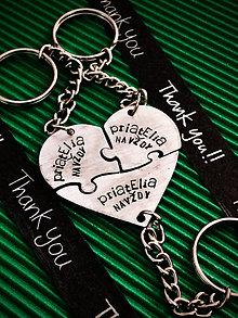 Kľúčenky - NOVINKA !!! Srdienko z 3 do seba zapadajúcich častí :) - 8554273_
